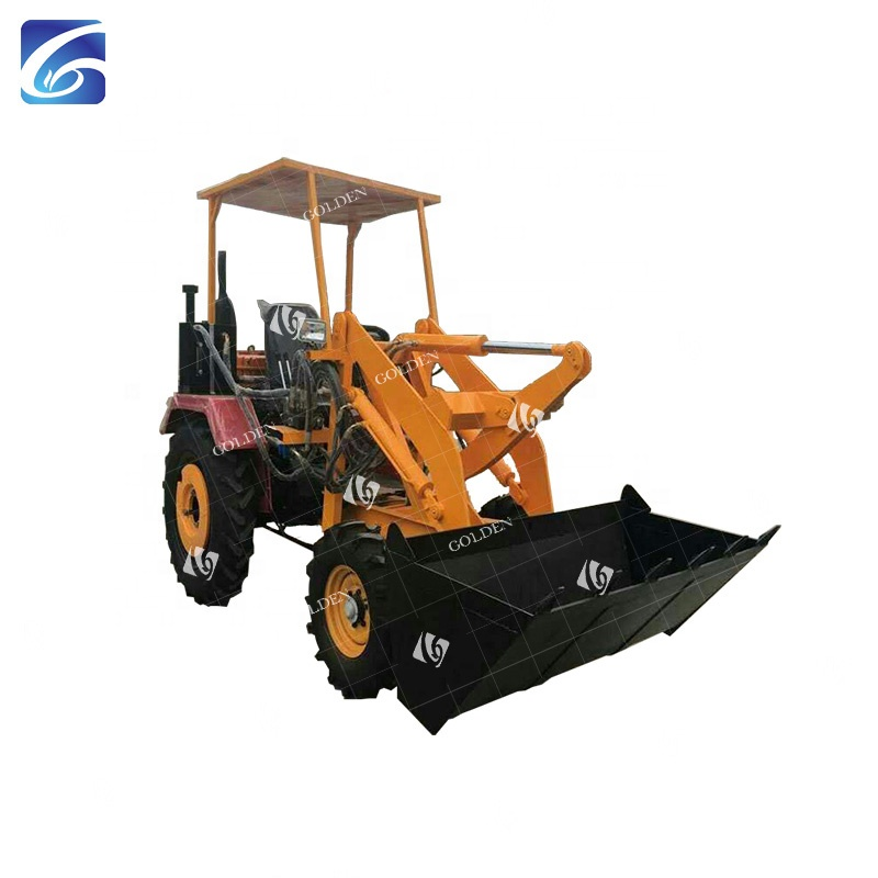 Mini Construction Wheel Loader TunnelLoading Machine Not Expensive