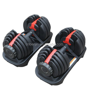 Pair of 52.5 Pound Steel Dumbbells Home Gym Exercise Workout Free Weights