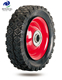 6'' rubber wheel tire 150mm