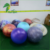 Pretty Factory Price LED Solar System Hanging Decorative Balls / Illuminated PVC Popular Inflatable Nice Plants Balloons