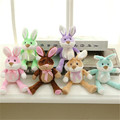 2017 Cute 6Colors Rabbit Baby Soft Plush Toys Brinquedos Plush Rabbit Stuffed Toys White Cheapest Price