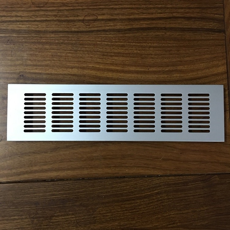 Kitchen Air Vent: Aluminum Grill Air Vent For Kintchen Cabinet Door