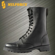 high quality police uniform shoes ranger boot cheap black fighting boot