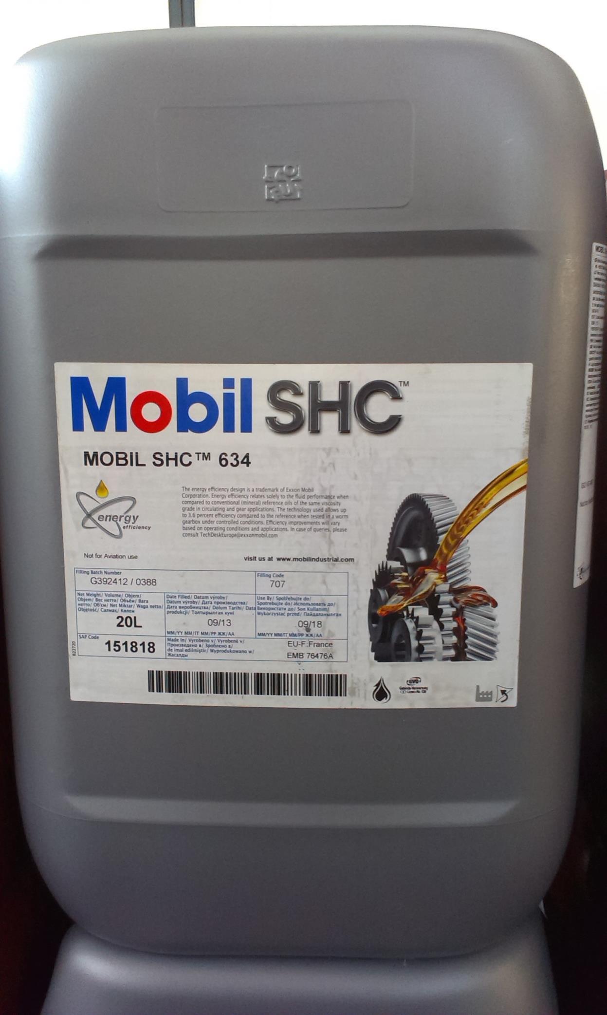 Mobil Shc 634 – Casa
