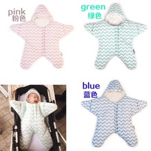 1 PCS Retail Newborn baby Sleeping Bag Polar Fleece infant Clothes style sleeping bags Long sleeved