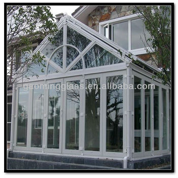 Prefabricated balcony glass sunhouse for sale buy for Prefab conservatory