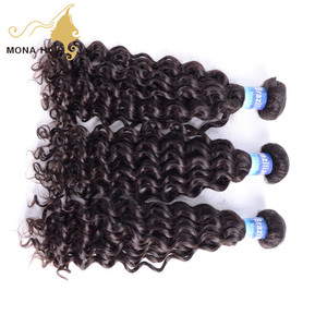 Bended soft & natural brazilian human hair extensions milky way pure human hair