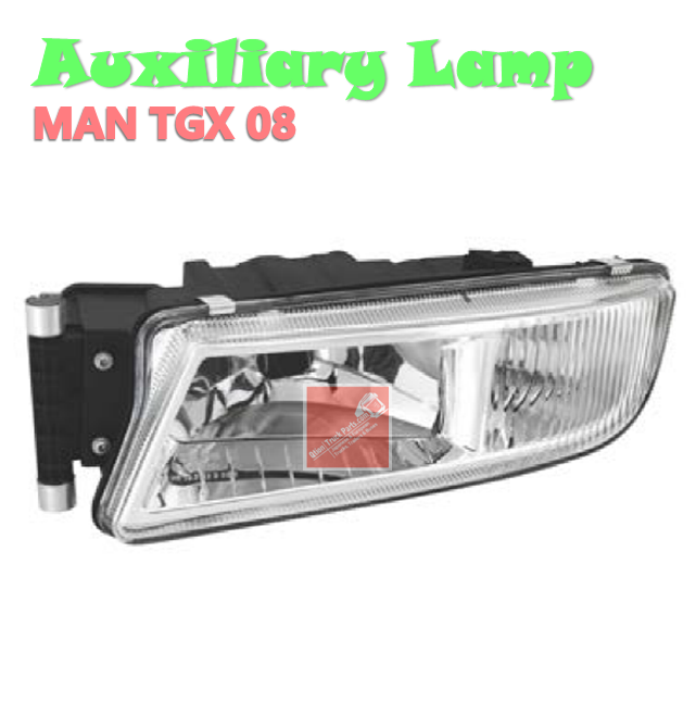 81251016521 Auxiliary Lamp, Head Lamp, Left, Without Bulb FOR MAN TGX 08
