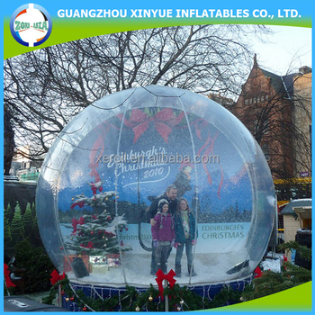 2016 New Arriving Christmas Inflatable Snow Globe Large Outdoor