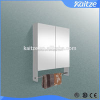 Modern Wall Mounted Bathroom Cabinet Mirror Cabinet with towel rack