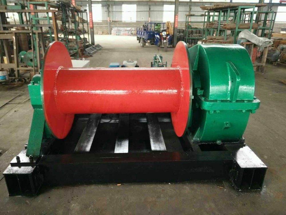 Hydraulic Cable Puller For Sale : Cable pulling machine electric winch ton