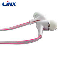 MP4/MP3 use and portable earphone with pink color