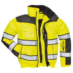 Customize Factory Men Removable Uniform Reflective Worker Jacket