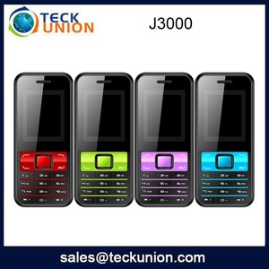 J3000 1.8inch lowest price mobile phone cheap bar phone whatsapp support