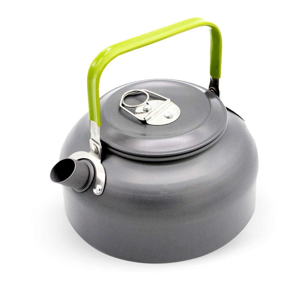 Shop For Cheap 1.1l Camping Outdoor Water Kettle Pot Teapot Picnic Cookware Coffee Ultra-light Hiking Survival Aluminum Portable Compact Camping & Hiking