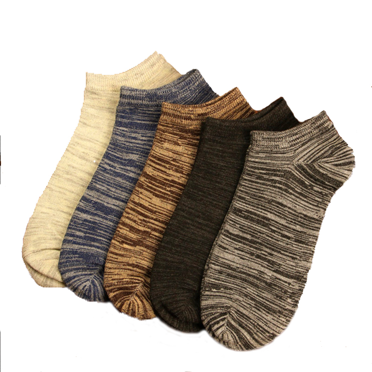 2018 New Women Men Socks Casual Boat Low Cut Summer Style Solid Color Short Ankle Invisible Retro Socks фото