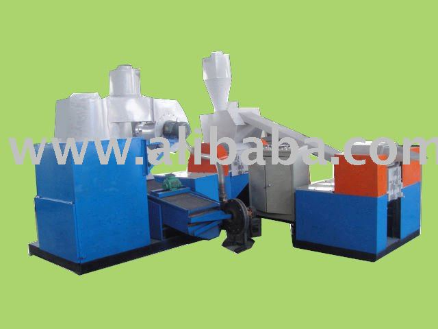 Printed circuit broad recycling line