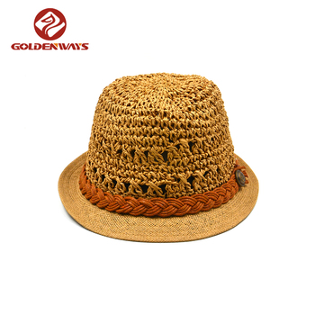 Bulk Sale Straw Summer Fedora Indiana Jones Hats - Buy Summer Fedora Hats 0dee3ae65ad