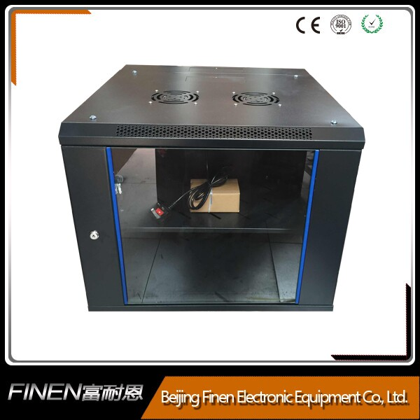 9U Wall Mount IT Network Server Rack Cabinet Enclosure. Free Accessory