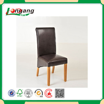 faux leather restaurant dining chairs. factory manufacture faux leather restaurant use dining wooden chair chairs ,