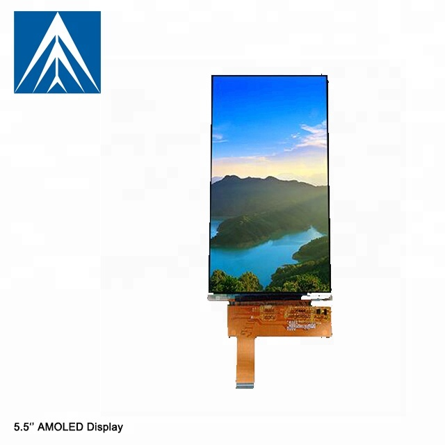 5.5 inch hight resolution 1080x1920 with 40 pin flexible oled displays