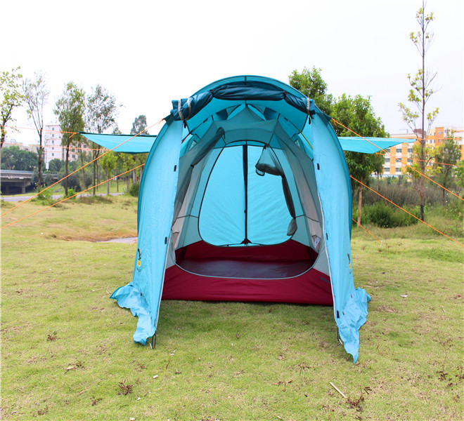 luxury 4 person family camping tent for sale 1