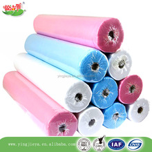 Factory paper nonwoven fabric SPA disposable bed sheet in roll