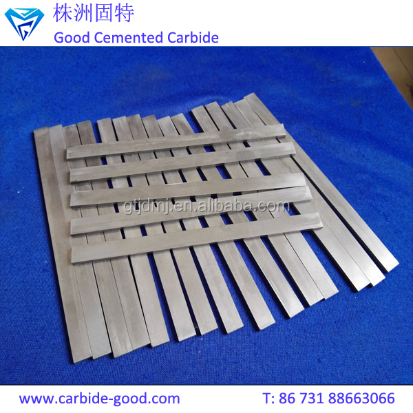 manufacture high hardness tungsten carbide strips for wood processing