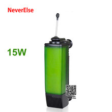 3-в-1 погружной внутренний фильтр для воды, насос для аквариума, аквариумный воздушный насос с фильтром для увеличения кислорода в воздухе и ...(Китай)