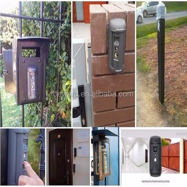 SIP IP video door phone, video intercom for access control system garage remote control