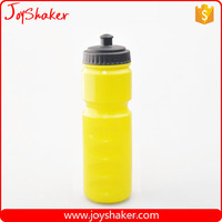 Logo Printed BPA Free Cheap 650ML PE Plastic Bike Sport Water Bottle With Soft