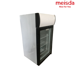 68L Beverage Mini Refrigerator Showcase Hotel coke Single Door Cooler