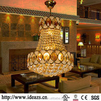C98179 led hanging office lights ,morden chandeliers , fabric shade chandelier