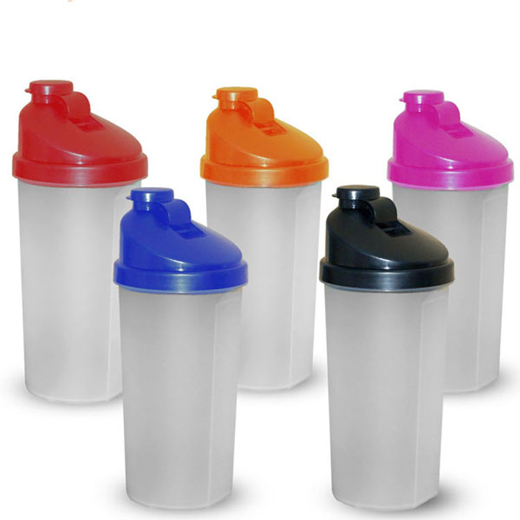 2016 Smart bpa-free plastic protein 600ml shaker bottle