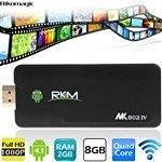 RIKOMAGIC MK802IV Android 4.1 Quad Core TV Box Mini PC with WiFi/HDMI/Bluetooth CPU RK3188 RAM 2GB NAND Flash 8GB