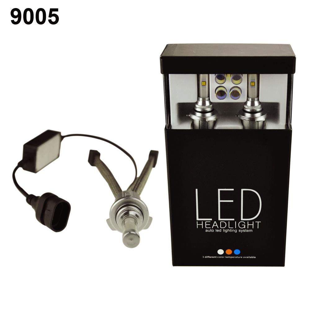 Wholesale H4 HB2 9005 Hi/Lo 40W LED Headlight Car Bulbs H7 Chart ...