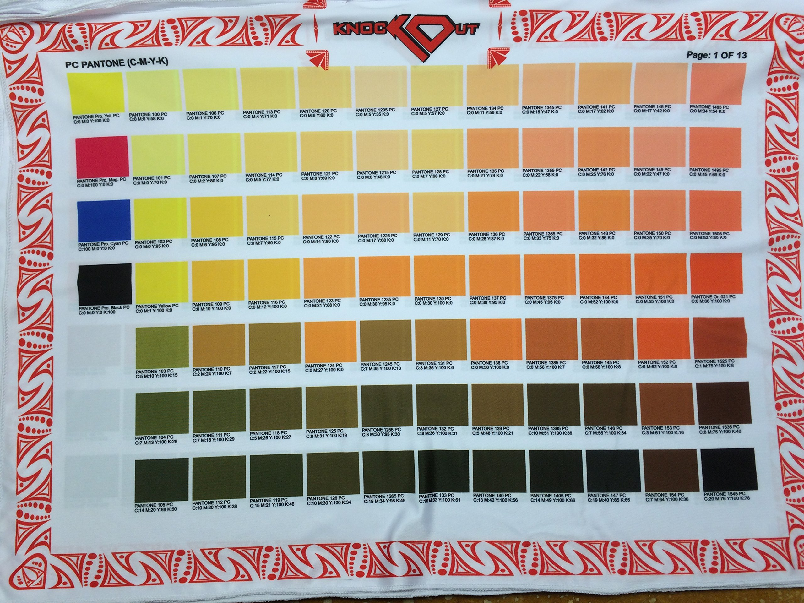 Cheap pantone fabric color chart find pantone fabric color chart pantone color guide printed on fabric cmyk price reduced nvjuhfo Gallery