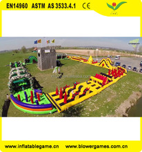 The beast giant challenge inflatable obstacle course