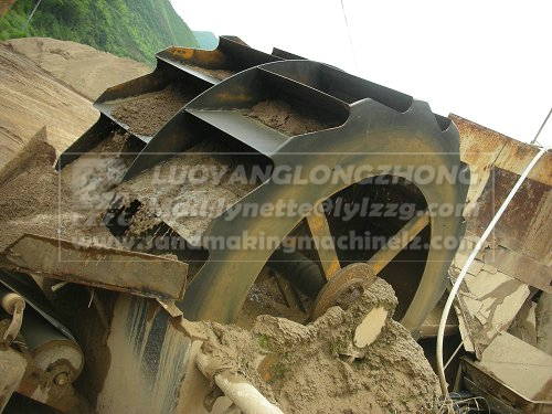 XSD2610 50t Wheel sand washer price