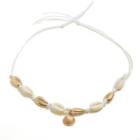Fashion gold shell necklace for women wholesales N97084