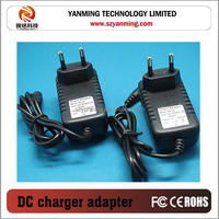 USA plug power adaptor ac/dc 12V 1A charger