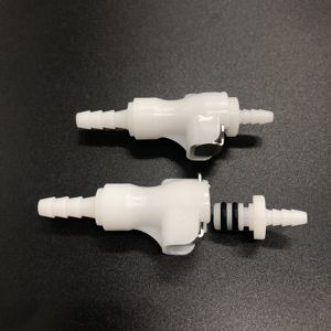 multi size plastic quick connector male fitting female coupling