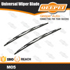 M05 China supplier competitive price economical traditional factory wholesale metal bone classic car wiper blade