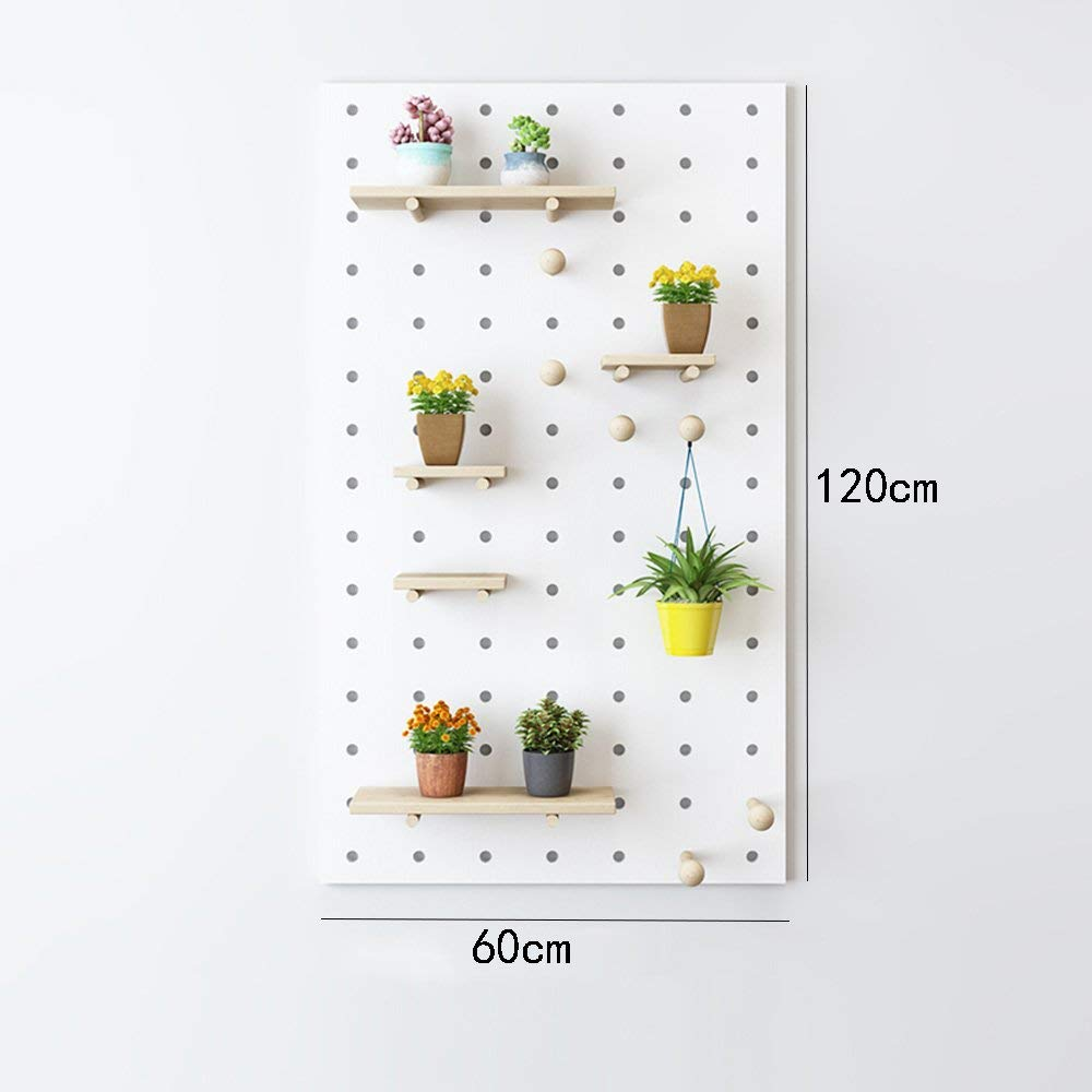 Bookshelf CHUNLAN Float Solid Wood Simple And Modern Wall-mounted Storage Racks Shelves Decorative Frame White A Variety Of Specifications Available (Size : White 6012014cm)