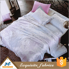 Shaoxing supplier Soft handle Microfiber fabric mattress ticking