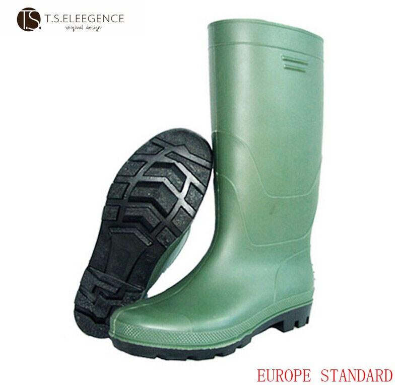 f2146dd6545 Moins cher homme moto chaussures de protection en pvc cuisse haute bottes  en caoutchouc