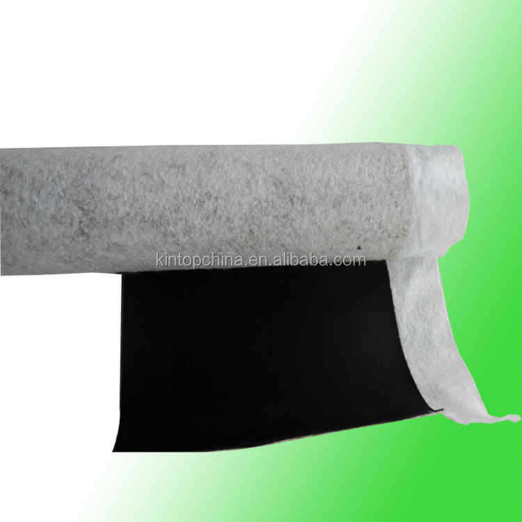Kintop supply the high quality EPDM Coiled rubber waterproof <strong>membrane</strong>