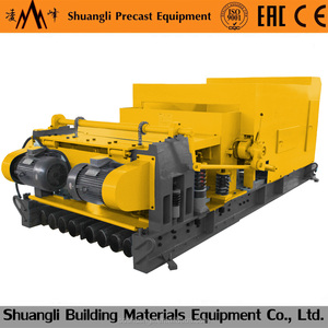 Lingfeng 200*900 concrete slabs production machine, precast factory