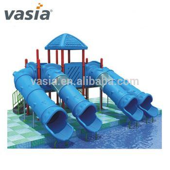 Outdoor Plastic Swimming Pool Tube Slide Playground Equipment,Swimming Pool  Play Equipment - Buy Plastic Playground Equipment,Playground ...