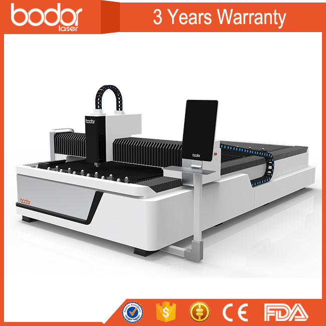 3mm stainless steel fiber laser cutting machine F1530 from Bodor China